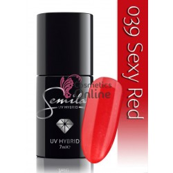 Oja UV Semilac 039 Rosu Sexy Red 7 ml